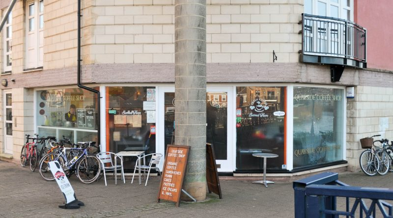 Quayside Coffee Shop - Exeter