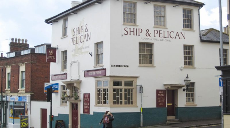 Ship and Pelican - Exeter