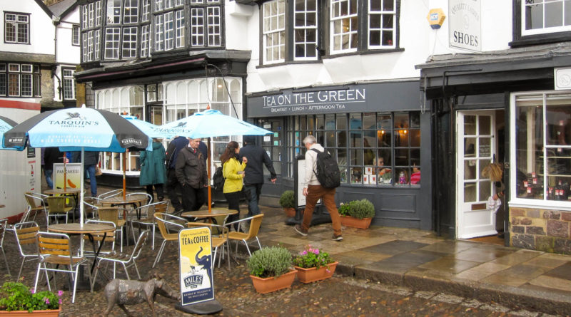 Tea on the Green - Exeter