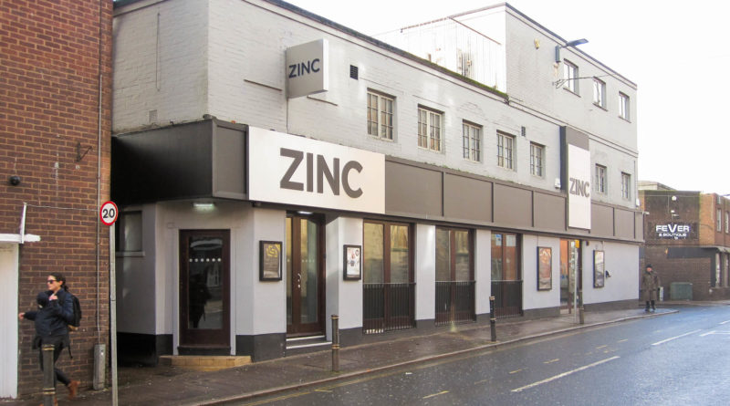 Zinc - Exeter